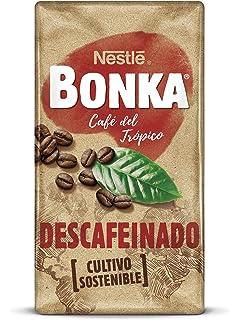 Bonka Café molido de tueste natural descafeinado y de cultivo sostenible-