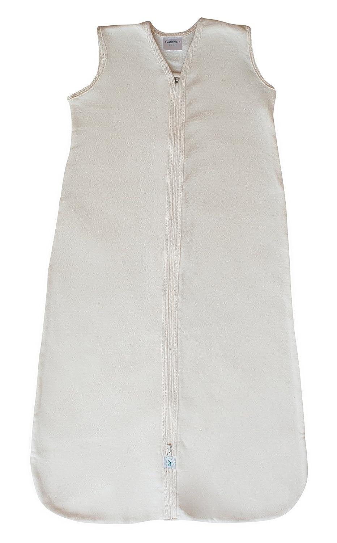 fa89f310b Amazon.com  CastleWare Baby-Organic Cotton Fleece-Sleeveless-Sleeper ...