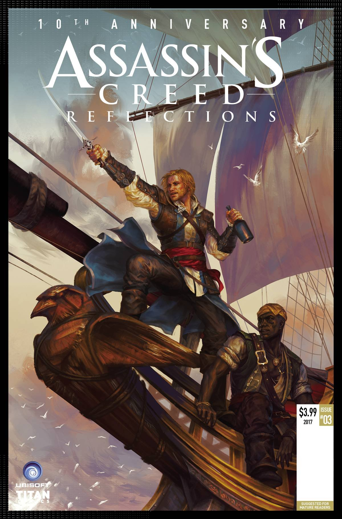 Download ASSASSINS CREED REFLECTIONS #3 (OF 4) CVR A SUNSETAGAIN (MR) ebook