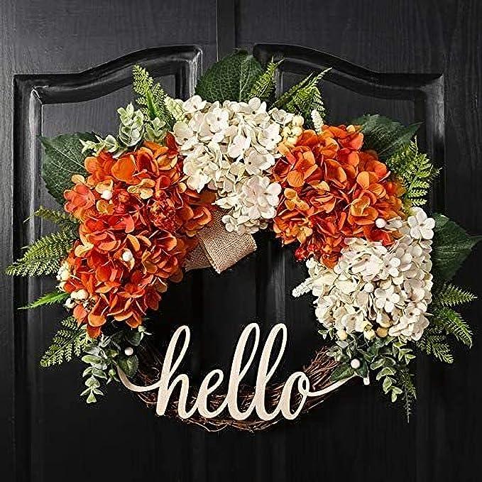 Fri-Collection door wreath XXL Autumn wreath Rustic House 48 cm