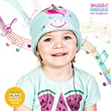 Snuggly Rascals Headphones for Kids Over Ear Headband Earphones; Quiet, Volume Limiting and Durable. Great for Travel, Use With iPad, iPhone, Samsung Tablet Computer. Suitable for Children (Unicorn)