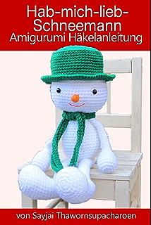 Hab Mich Lieb Lebkuchen Mann Amigurumi Häkelanleitung Weihnachts
