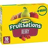 Mott's Fruitsations + Veggie Gluten Free Berry, 10-Count, 226 Gram