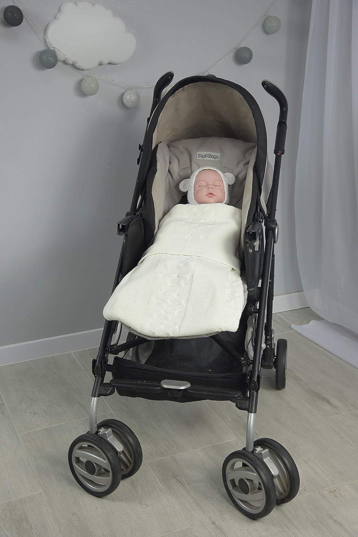 MoMika Coperta in cashmere per bambino II Copertina da neonato 110 x 80 cm II ideale per seggiolino auto passeggino passeggino o lettino II Fabbricato in Europa Pink