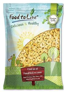 Banana Chips, 9 Pounds — Sweetened, Unsulfured, Non-GMO, Kosher, Vegan, Bulk, Crisp & Tasty Snack