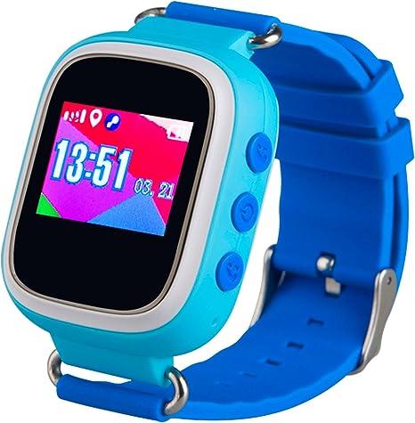 Amazon.com: techcomm td-03 Kids Reloj Inteligente GPS ...