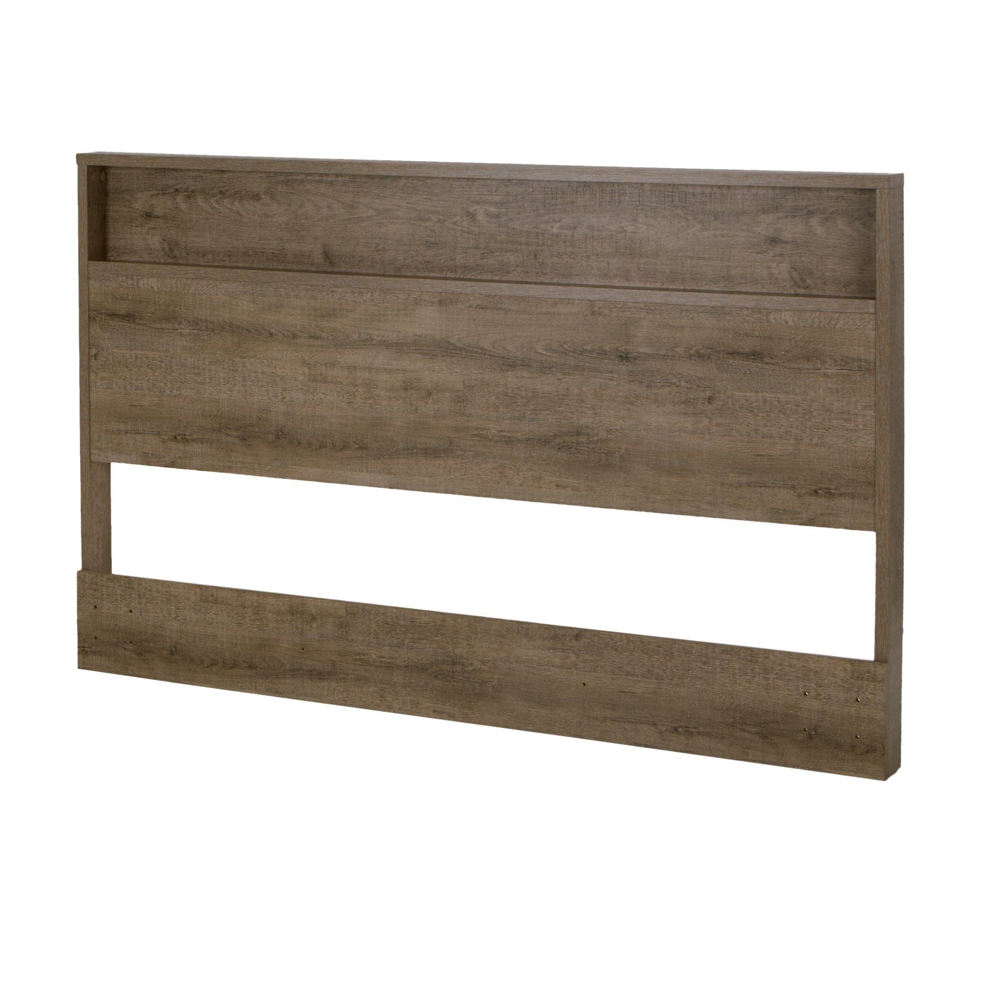 South Shore Holland Headboard with Shelf, Full/Queen 54/60-Inch, Weathered Oak by South Shore