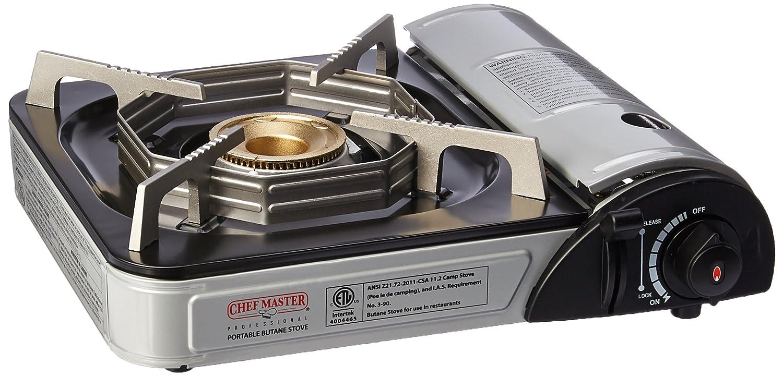 Chef-Master 90011 1-Burner Butane Countertop Range - 9,925 BTU