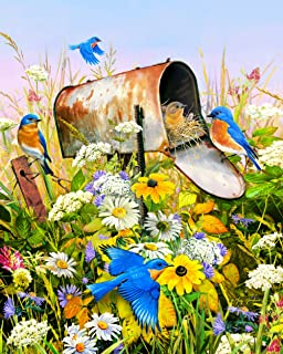 product image for Springbok's 36 Piece Jigsaw Puzzle Blue Birds
