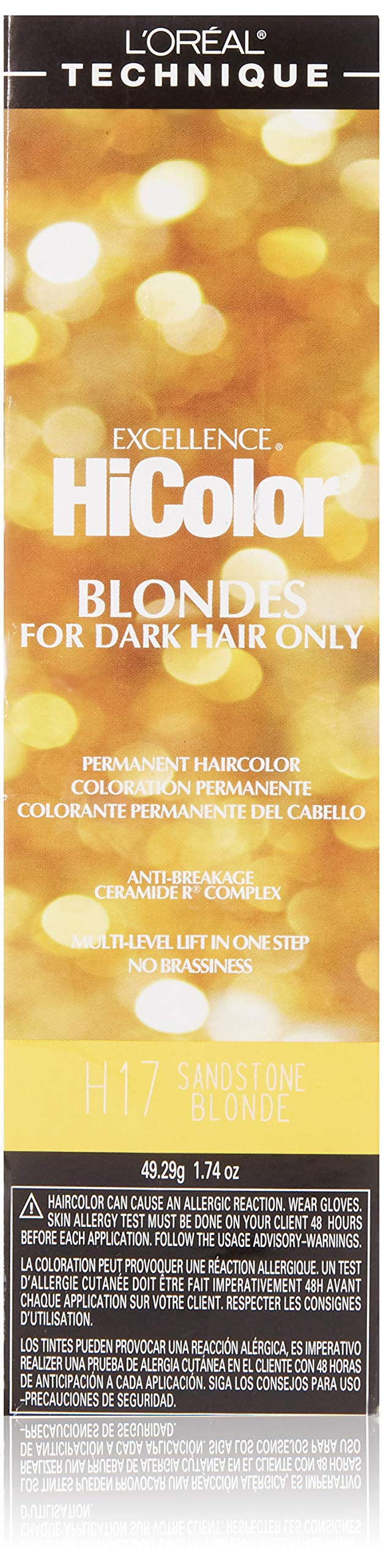 L'oreal Paris Excellence Hicolor Permanent Hair Color, Sandstone Blonde