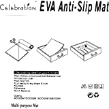 Homies PVC Beautiful, Useful and Multipurpose FULL LENGTH 5 METER Anti Slip grip Mat,White