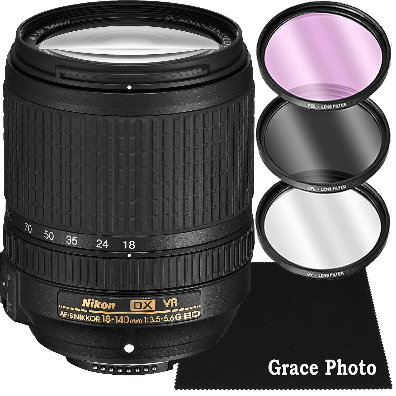 67mm Cap fits Nikon AF-S VR 70-300mm f//4.5-5.6G IF-ED /& 18-140mm 16-85mm
