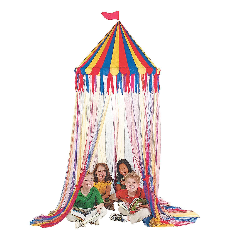 Fun Express - Big Top Canopy Tent - Educational - Educational Furniture - Misc Educational Furniture - 1 Piece