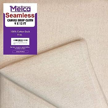 Melca Canvas Drop Cloth Tarp Art Supplies