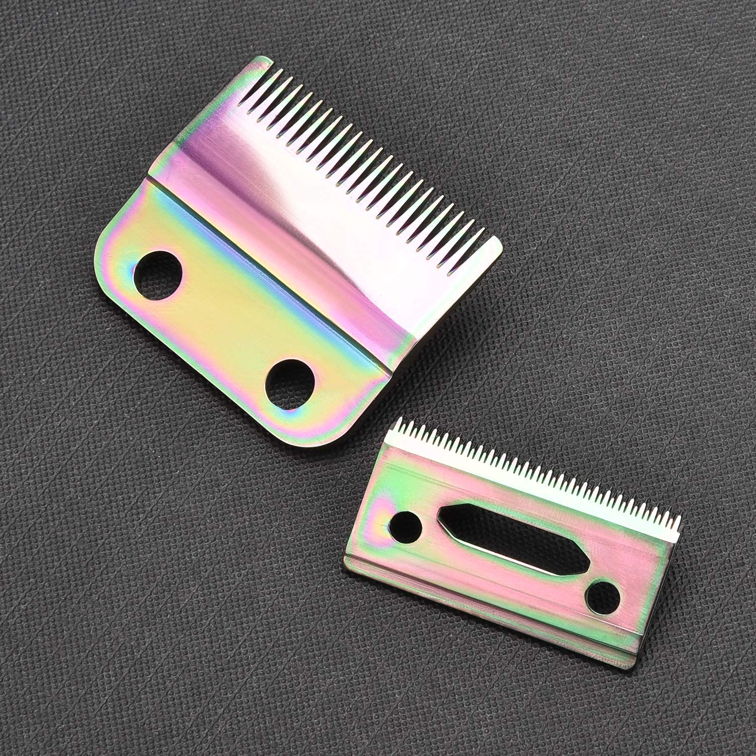 Professional 2-Hole Stagger-Tooth Clipper Replacement Blade #2161,Magic Clip Blade,Fits for Professional 5 Star Senior Cordless Wahl Clipper,Including Screws