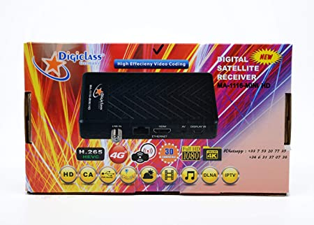 Receptor Satellite HD - Digital MA-1116 Mini - Smart Plus H265