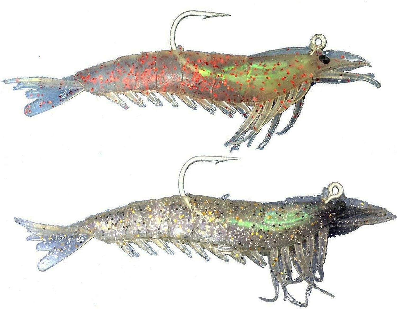 imitazione gamberetto in gomma pesca spinning gambero bass spigola traina esca