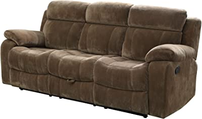 Coaster Home Furnishings Motion Sofa with Tufted Back