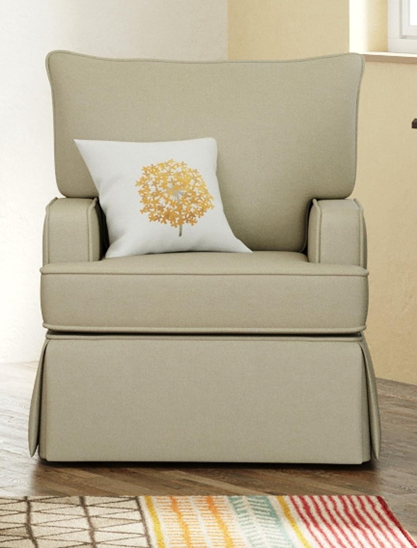 Amazon.com: Stork Craft giratorio Davenport del tapizado ...
