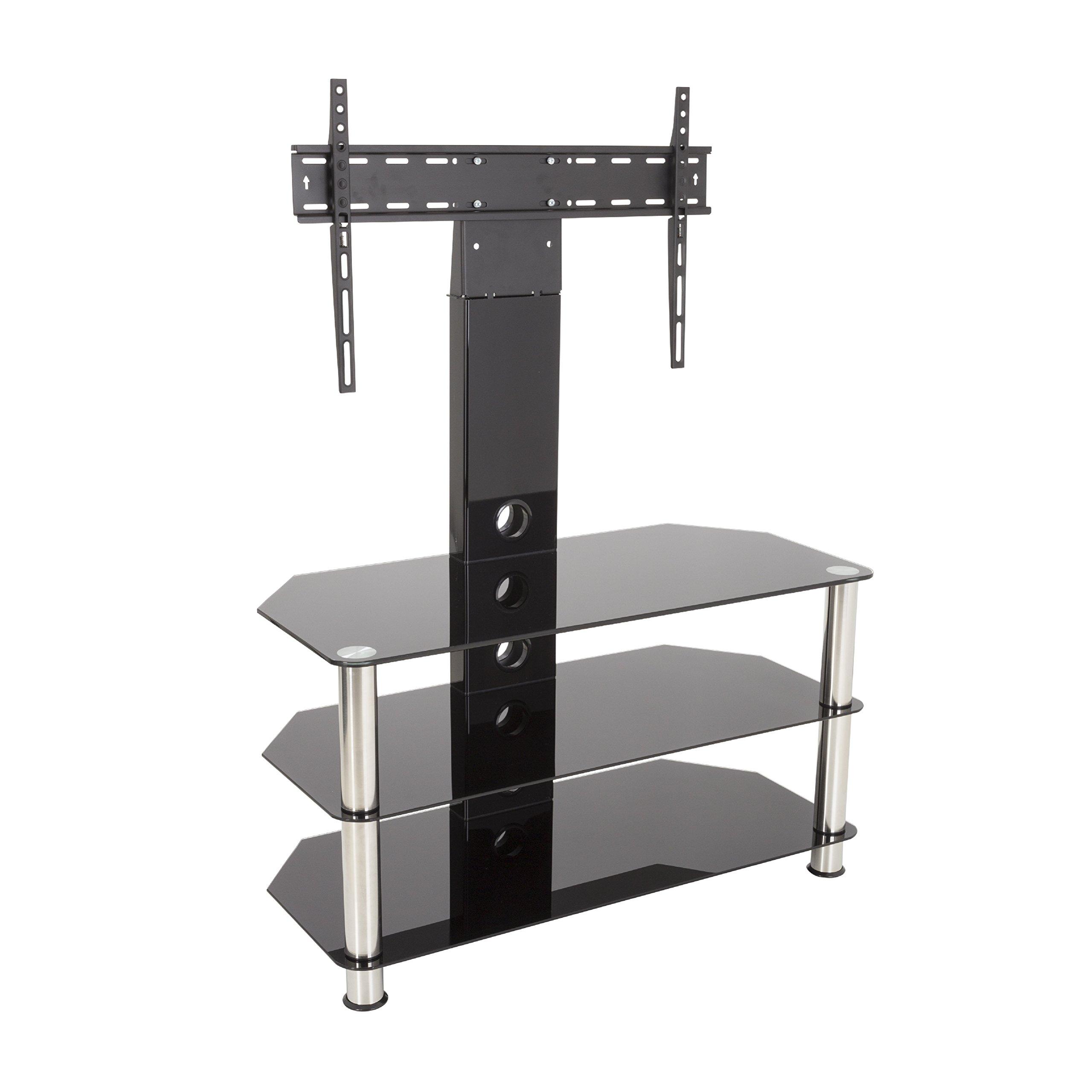 Pylone Salle De Bain ~ meuble tv noir avec led amazon fr