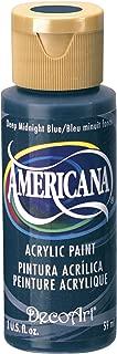 product image for DecoArt Americana Acrylic Paint, 2-Ounce, Deep Midnight Blue