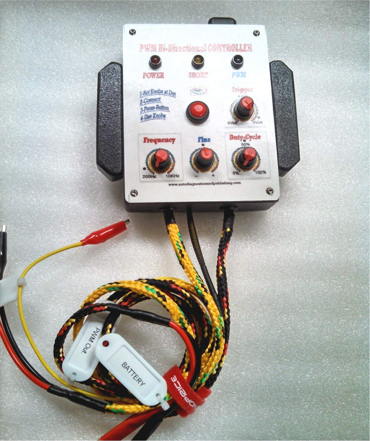 0 to 60 amps ADPTraining Automotive PWM Controller Tester-Driver-Pulser