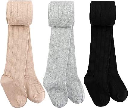 Baby Toddler Girls Tights Knit Cotton Pantyhose Dance Leggings Pants Stockings