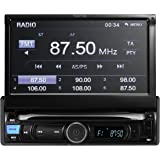 "TUVVA KSN7812 1 DIN Mechless Car Auduio with 7"" Touch Screen, MHL Mobile Connectivity, Bluetooth / USB / SD / AV IN / MP3 /MP4 / AM / FM Receiver (No CD/DVD player)"