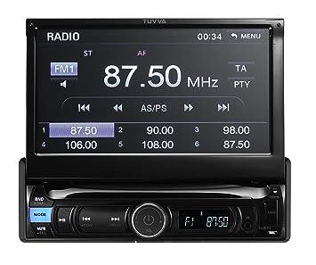 TUVVA ksn7812 1 DIN para coche Car Transporter auduio con pantalla táctil de 7 pulgadas,
