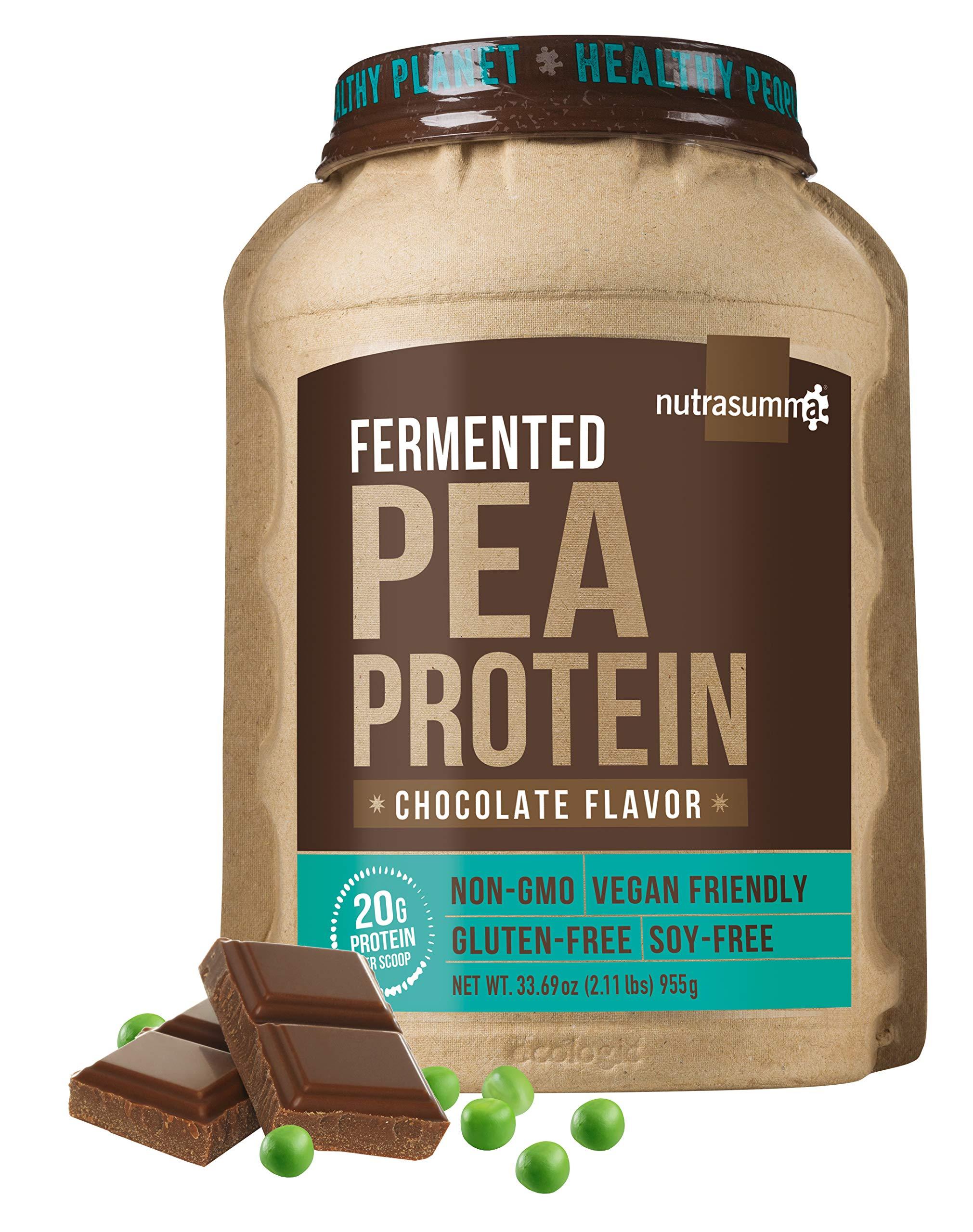 Nutrasumma-Pea Protein ''Fermented'' Chocolate 34.57 oz( 2.16 lbs)