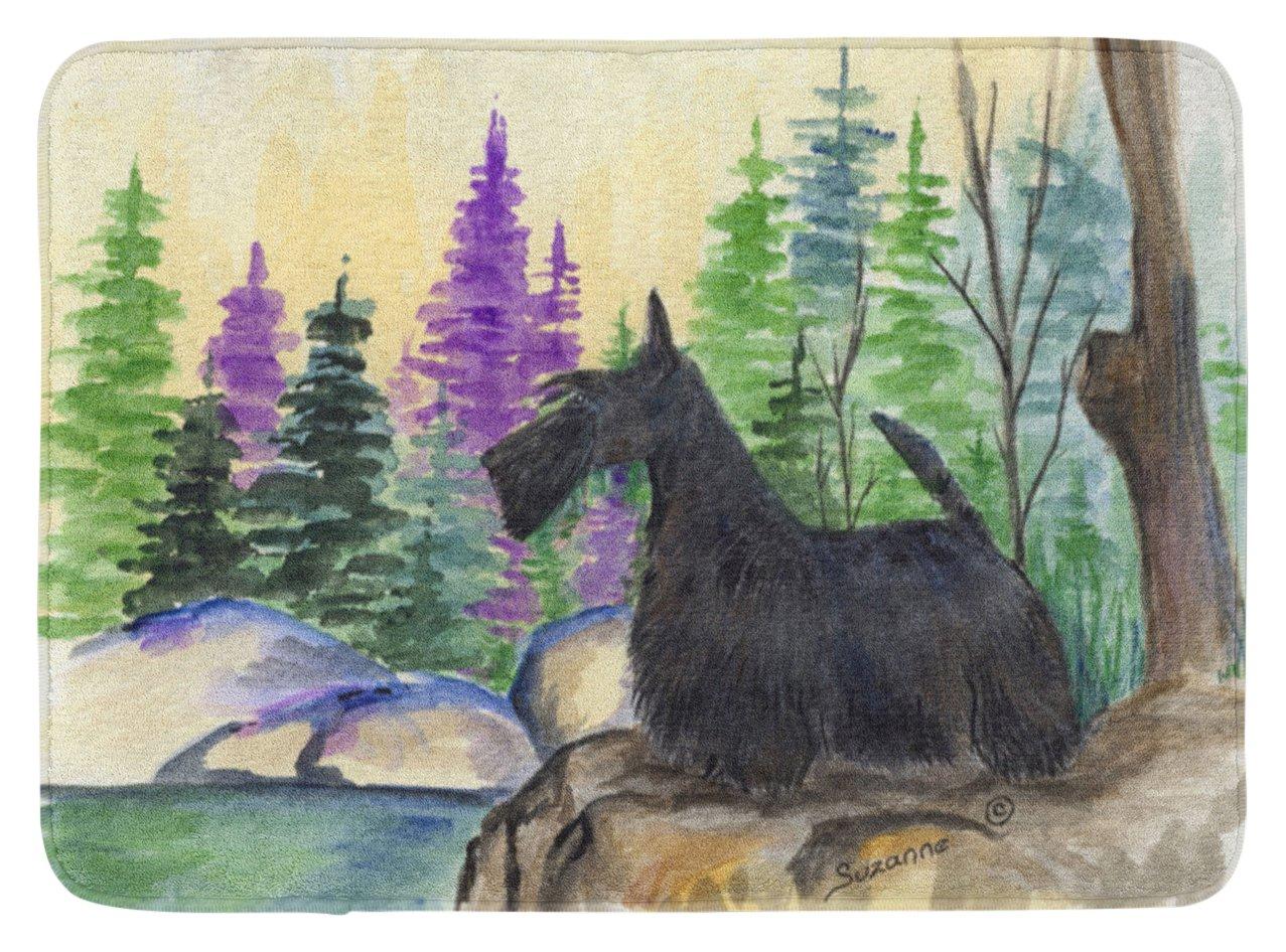 Carolines Treasures Scottish Terrier Floor Mat 19 x 27 Multicolor