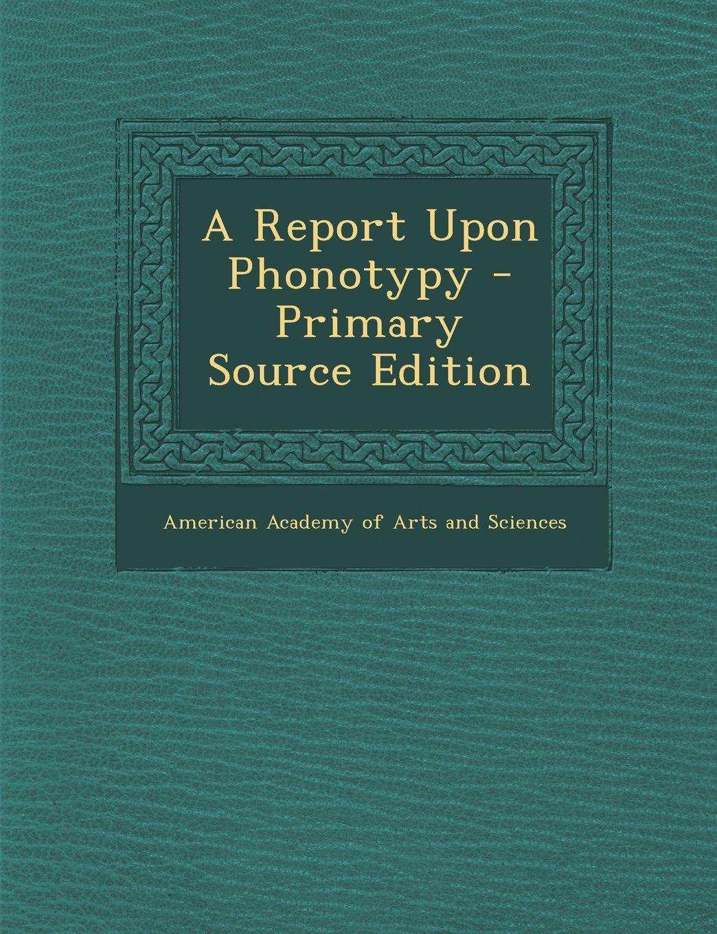 Download A Report Upon Phonotypy - Primary Source Edition pdf