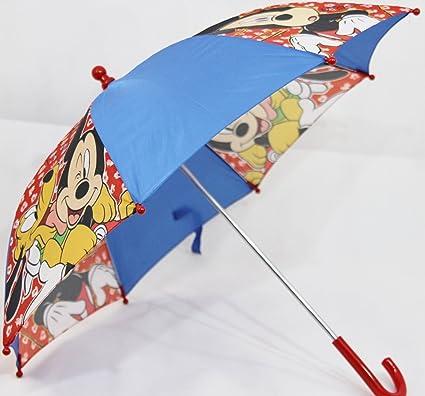 Niños de paraguas Diseño Mickey Mouse + Pluto en azul/rojo (ksd03 ...
