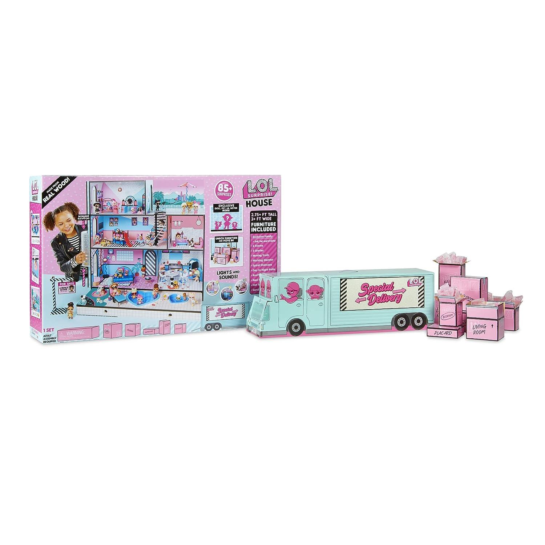 L O L Surprise House Collectable Multicolor Dollhouses Amazon