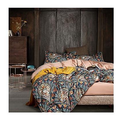 Funda Nordica King Size.Amazon Com Slowly Mist Print 3d Bedding Set Luxury Egyptian