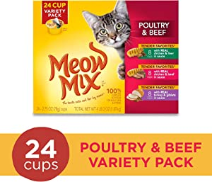 Meow Mix Tender Favorites Wet Cat Food