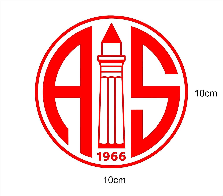 Antalyaspor Autoaufkleber A52// 10x 10cm Hochleistungsfolie in der Farbe Rot