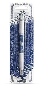 Rainbow Dust Food Art Pen - Navy Blue