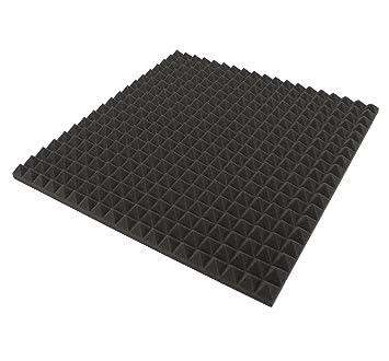 Akustik DammungPyramiden Schaumstoff ECO SchalldammungTonstudio 1 St Ca