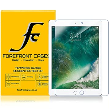 """100/% Genuine Tempered Glass Screen Protector cover For NEW APPLE iPad 9.7/"""" 2017"""