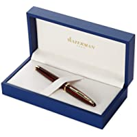 Waterman Carene Amber Shimmer Fountain Pen (Fine Point)