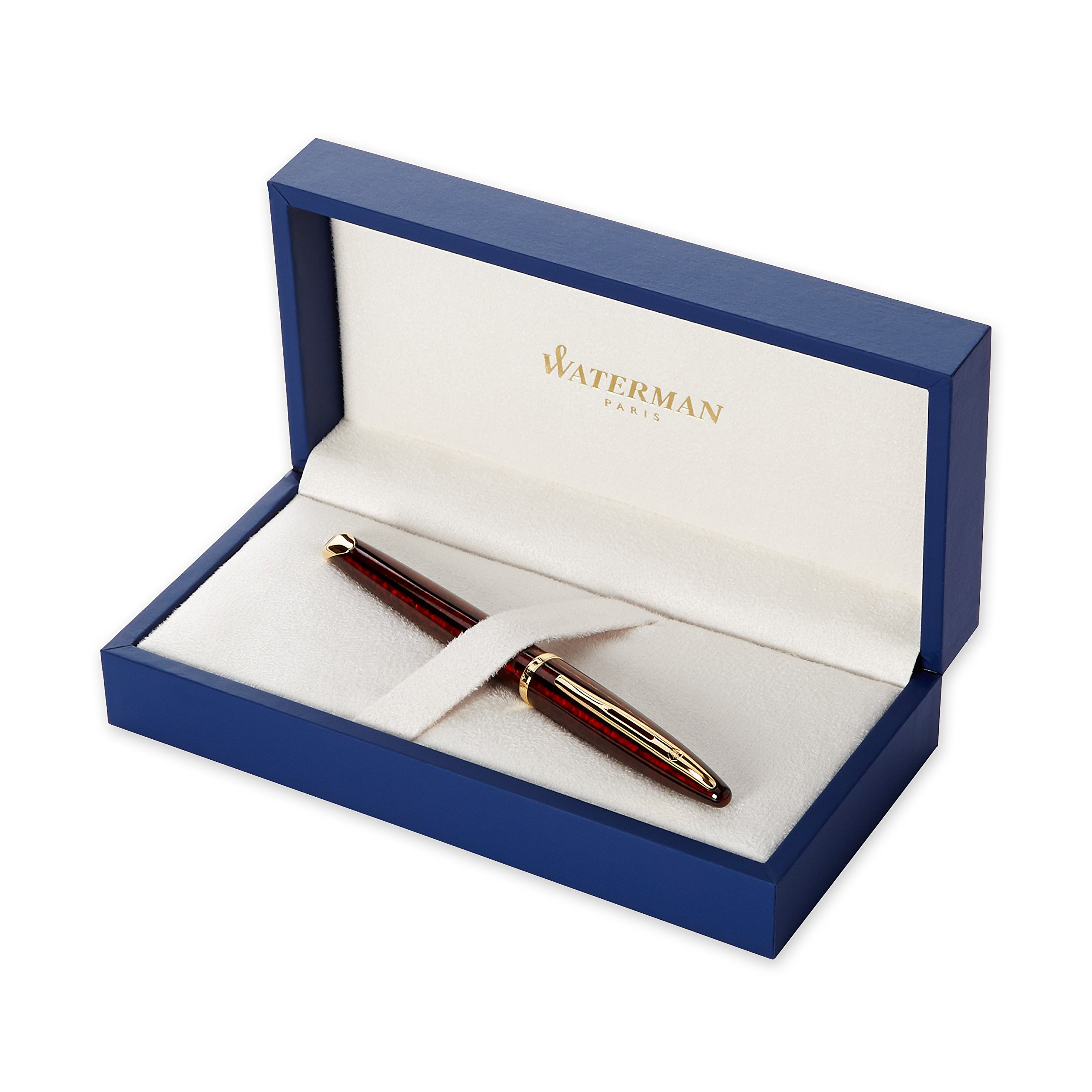Waterman Carene Amber Shimmer Fountain Pen, Fine Point (S0700860) by Waterman (Image #1)