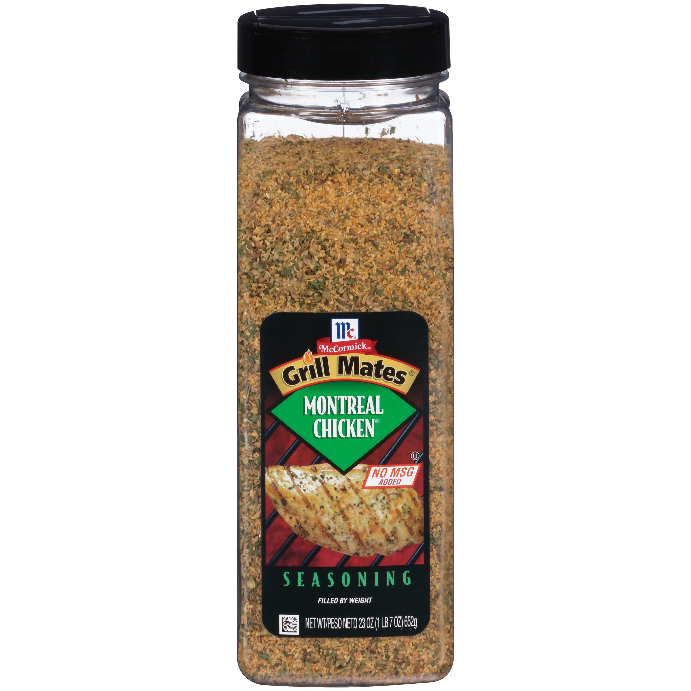 McCormick Grill Mates Montreal Chicken Seasoning (Features a Savory Blend of All-Natural Herbs