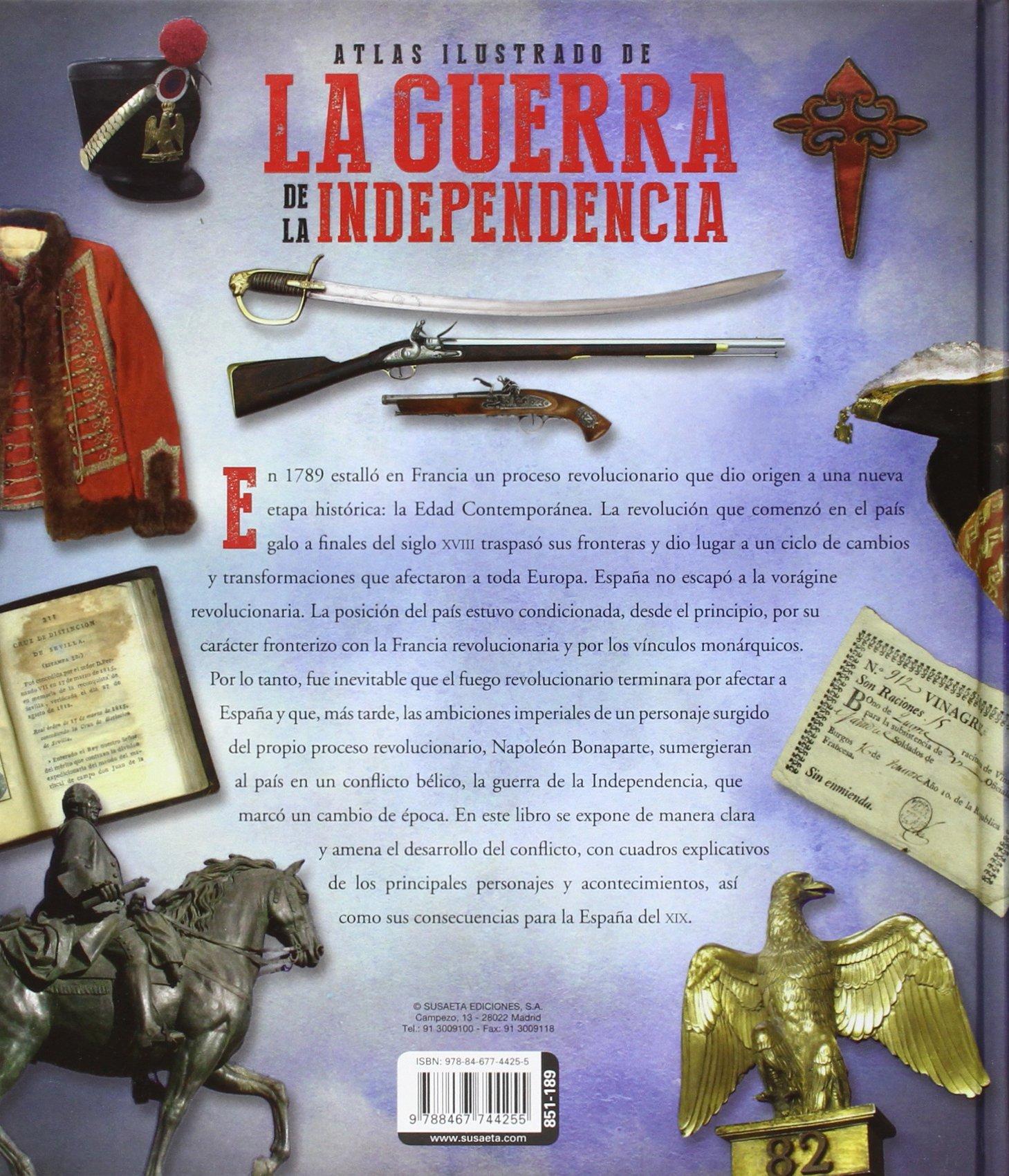 Atlas ilustrado de la guerra de la independencia: Amazon.es: González Clavero, Mariano: Libros