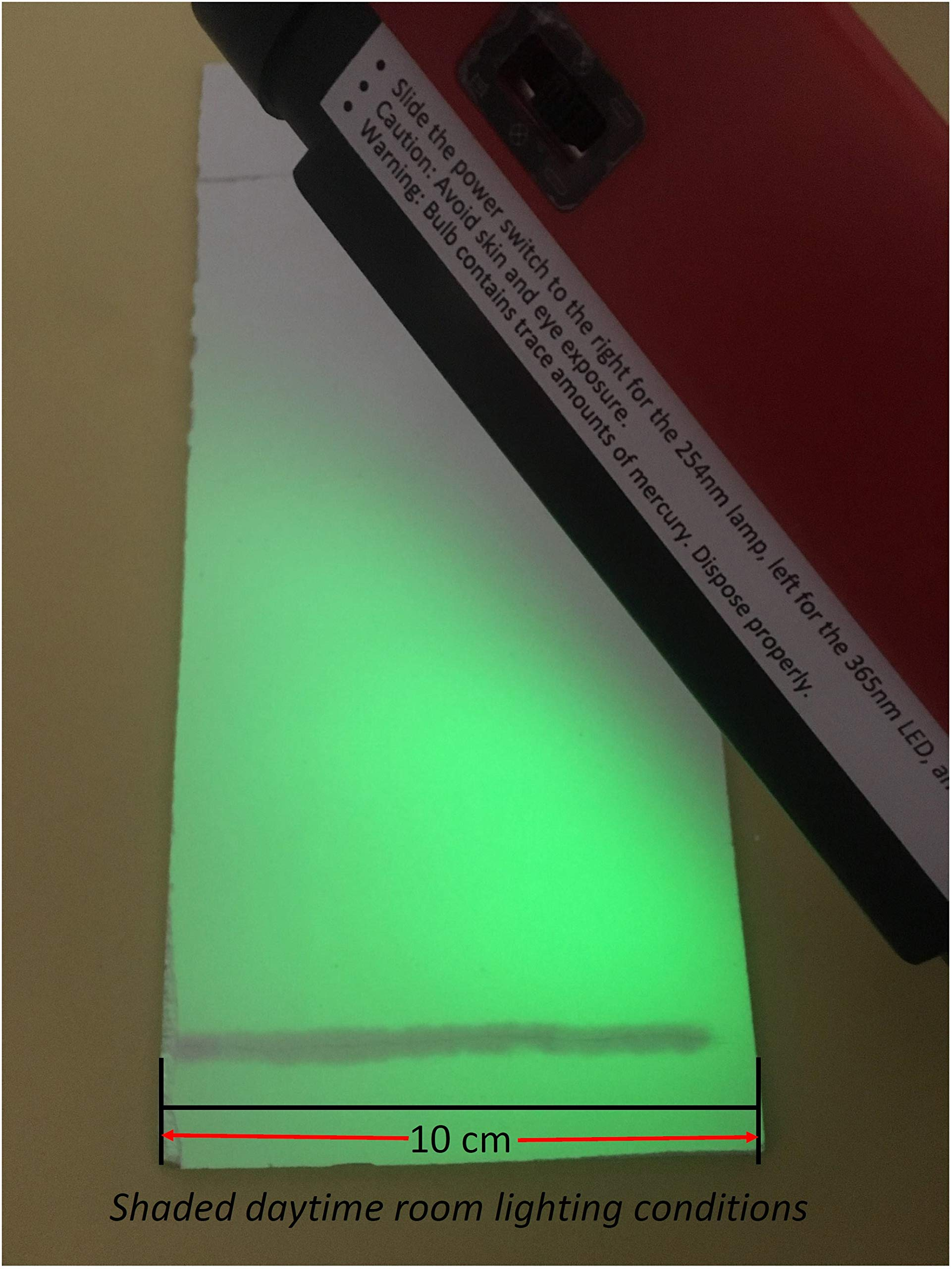 UV Lamp 254nm/365nm Portable Handheld Shortwave Longwave Lab Blacklight Batteries Included AAdvance Instruments