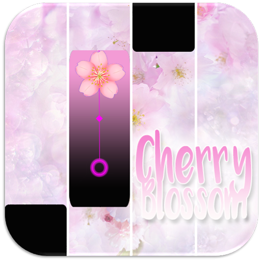 Pink Cherry Blossom Piano Tiles