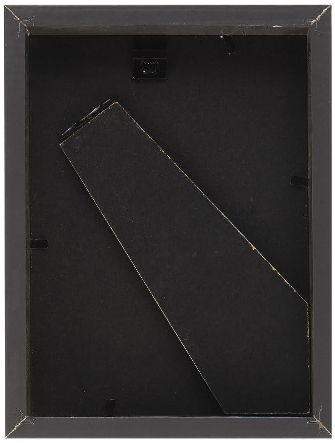 IKEA RIBBA marco, de alto brillo, gris: Amazon.es: Hogar