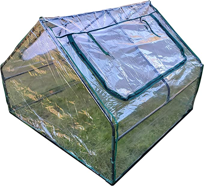 Amazon Com Frame It All Greenhouse 4 Feet By 4 Feet By 36 Inch Garden Outdoor