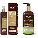 WOW 10 in 1 Miracle Hair Oil - No Mineral Oils & Parabens - Cold Pressed - 200 ML