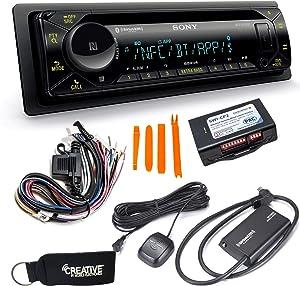 Sony MEX-N5300BT Bluetooth CD Receiver with SiriusXM Satellite Radio Tuner & Steering Wheel Control Interface